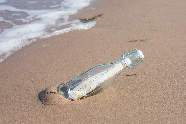 Susan Elsley's Message in a bottle